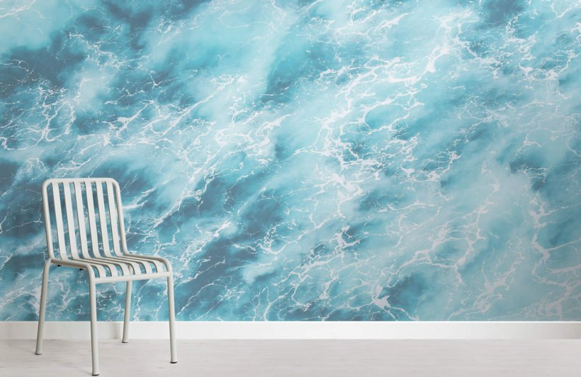 caspian-photographic waves-room-wall mural-kj
