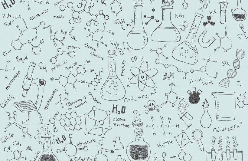 chemistry-doodle-childrens-plain-1-wall-murals