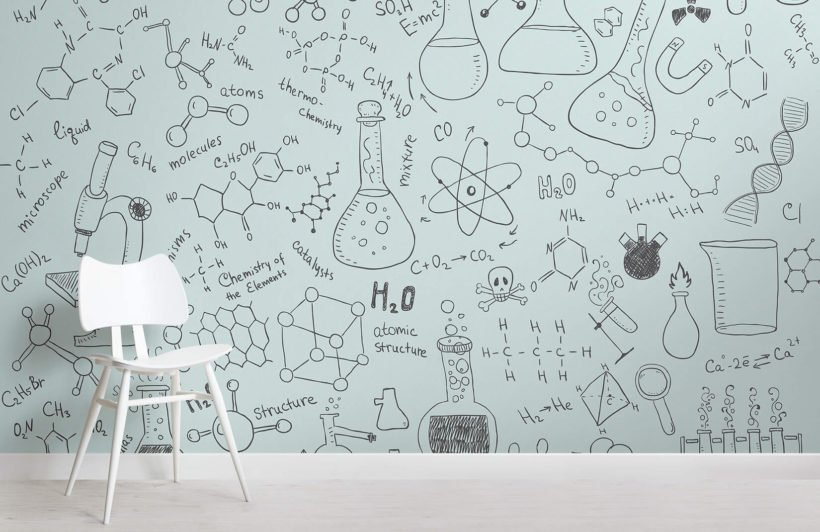 chemistry-doodle-childrens-room-wall-murals