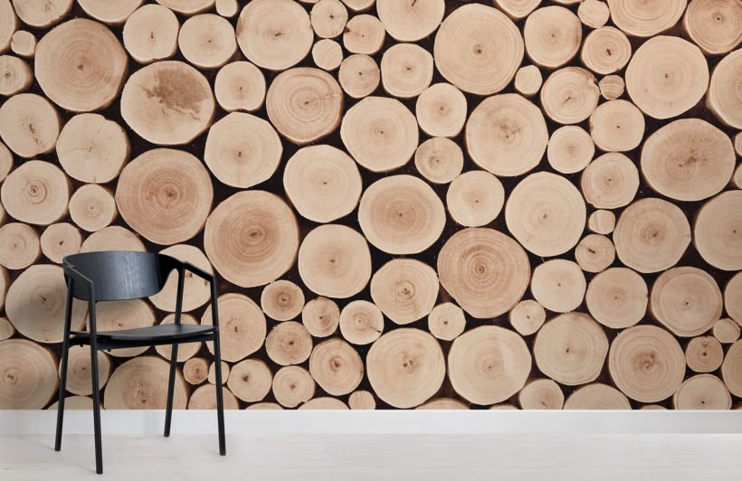chopped-beech-log-textures-room-wall-murals