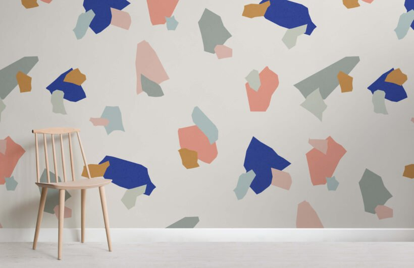 colourful-abstract-terrazzo-pattern-wallpaper-mural