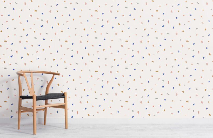 colourful-minimal-terrazzo-repeat-pattern-wallpaper