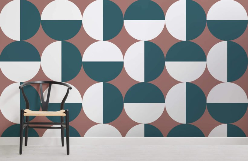 Corbusier Mid Century Modern Room