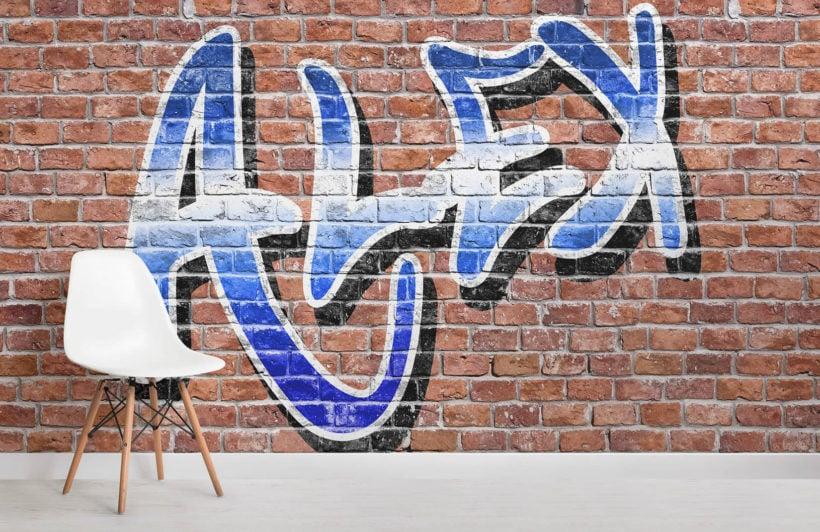 custom-name-graffiti-room-wall-mural