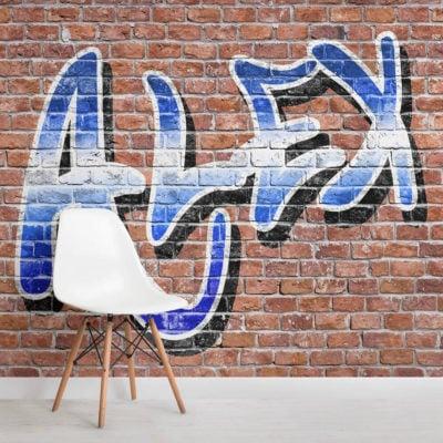 custom-name-graffiti-square-wall-mural