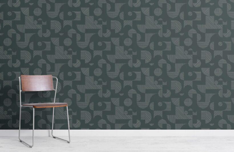 dark-green-abstract-geometric-lines-repeat-pattern-wallpaper