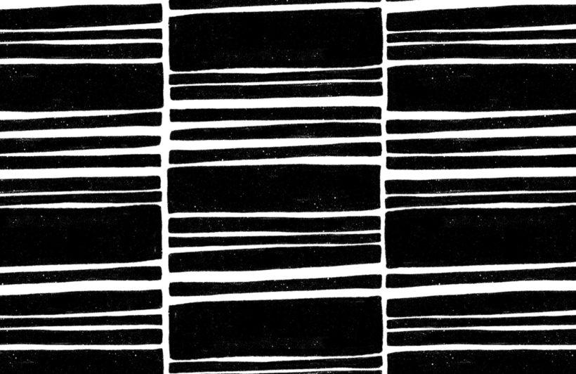 dark grey horizontal textured stripes wallpaper mural