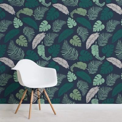 dark-tropical-leaves-design-square-1-wall-murals