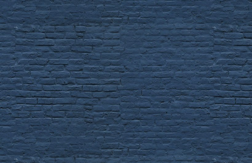 deep-blue-brick-wall-mural-plain-wall-mural