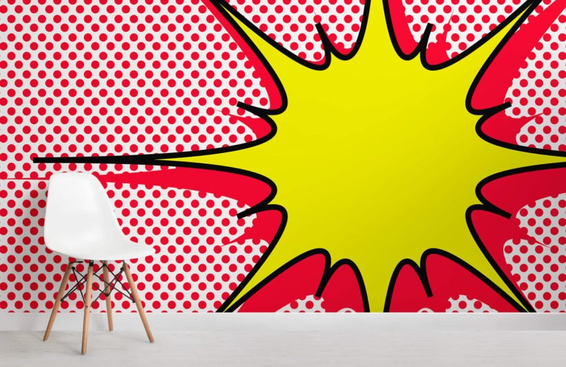 dotted-explosion-pop-art-retro-room-wall-murals