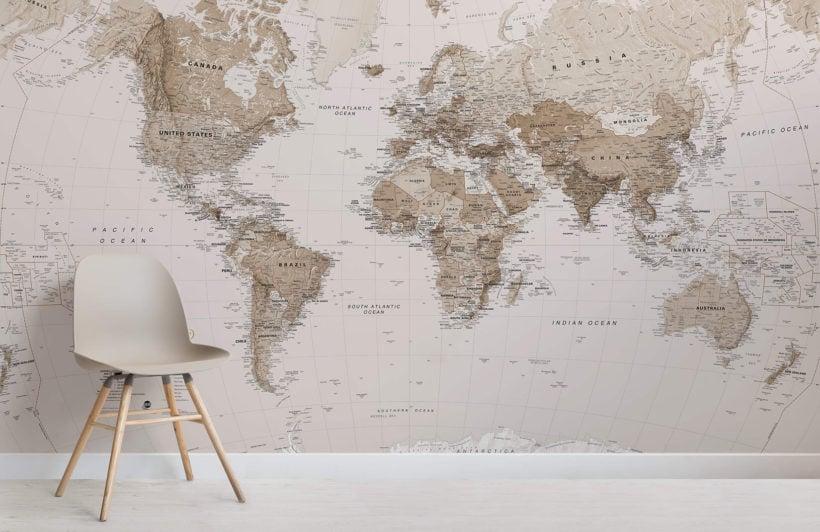 earth-tone-world-map-maps-room-wall-murals