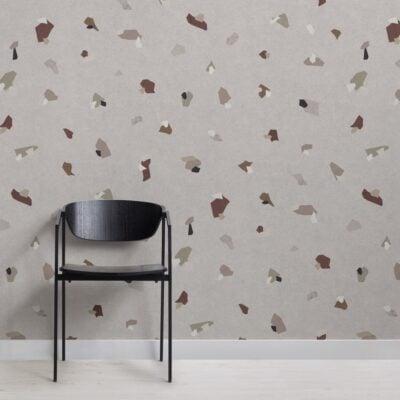 earth-tones-terrazzo-effect-pattern-wallpaper-mural