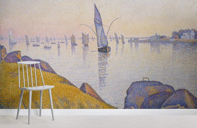 evening-calm-by-paul-signac-art-room-wall-murals