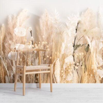 field-of-dried-flowers-wallpaper-mural
