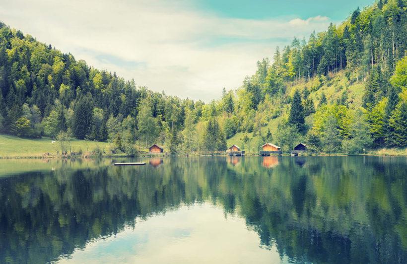 finnish-lake-landscape-plain-wall-murals