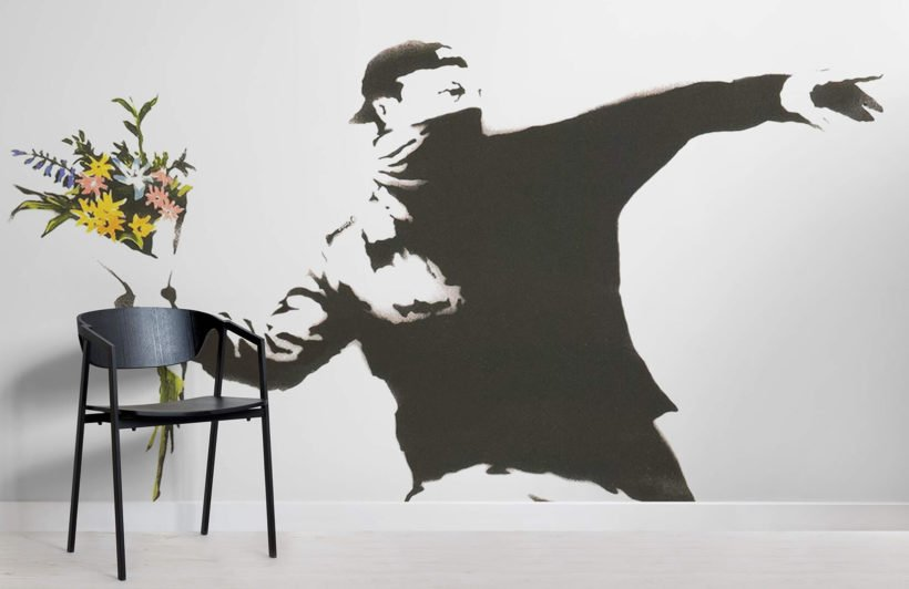 flowers-banksy-graffiti-room-wall-murals