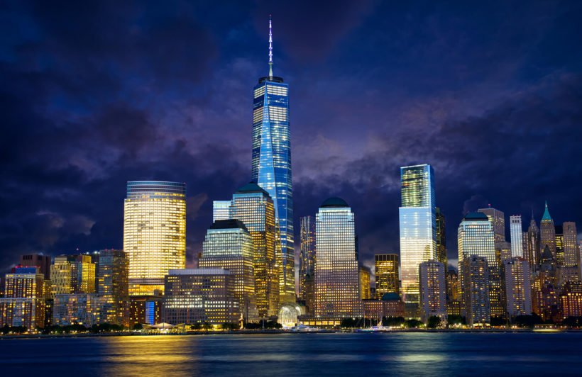 freedom-tower-city-plain-wall-murals