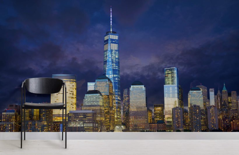 freedom-tower-city-room-wall-murals
