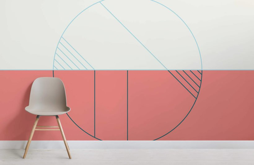 garbo-art deco-room-wall mural-kj