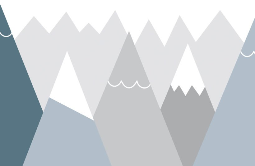 kids-blue-and-grey-mountains-nursery-plain-wall-mural