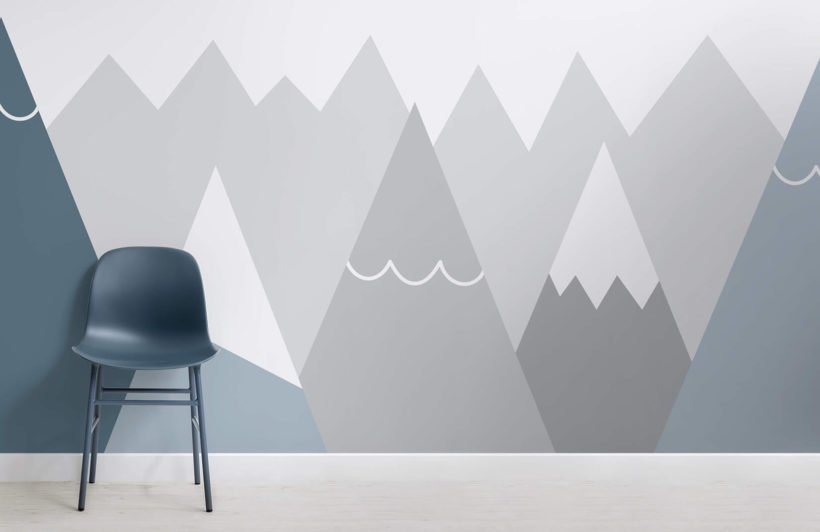 kids-blue-and-grey-mountains-nursery-room-wall-mural