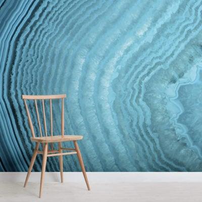 grandidierite-crystals-square-wall mural-kj