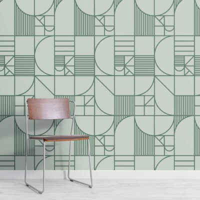 green-abstract-geomeetric-lines-repeat-pattern-wallpaper