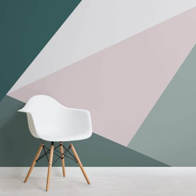 green-oversized-geometric-wall-mural-square