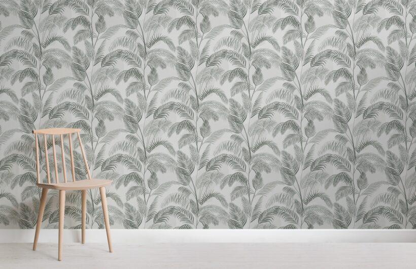 green-watercolour-palm-leaf-repeat-pattern-wallpaper