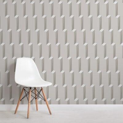 green-3d-effect-modern-geometric-repeat-pattern-wallpaper