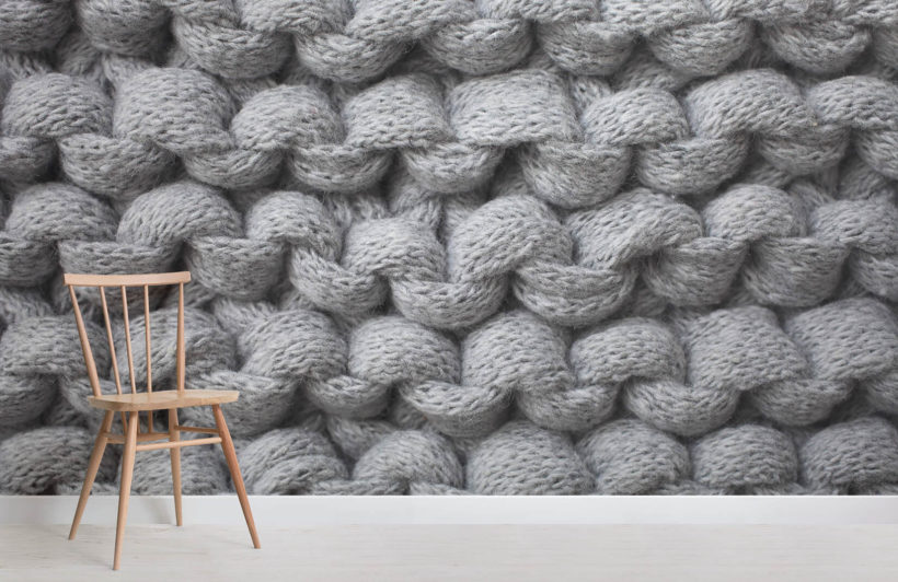 grey-chunky-knit-wall-mural-textures-room-wall-murals