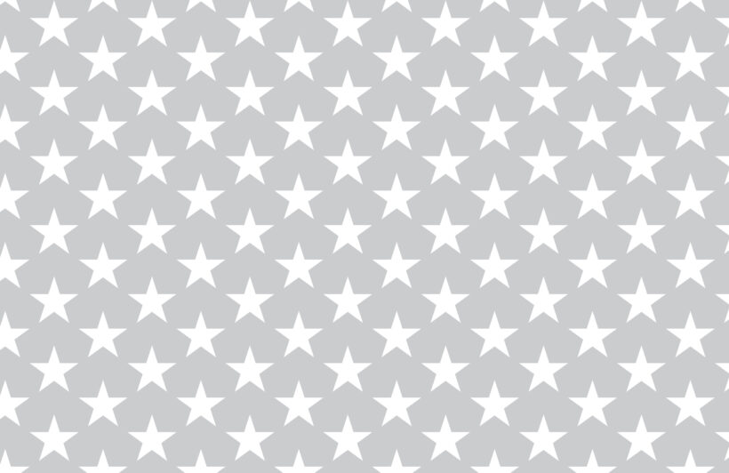 grey large star repeat pattern wallpaper