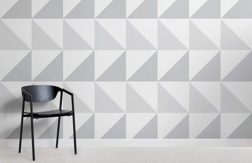 grey-triangles-room-wall-murals
