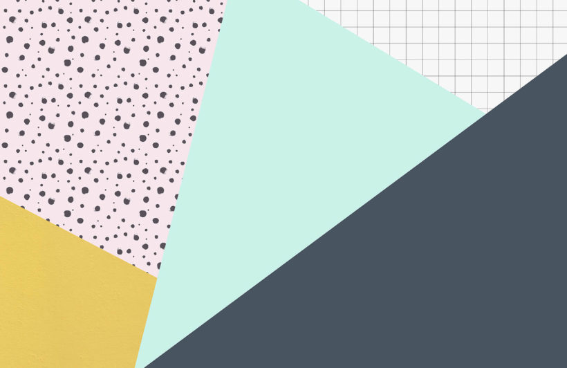 grid-and-dots-geometric-collection-plain