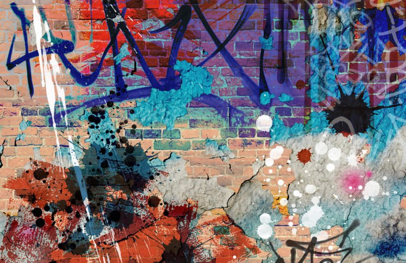 grunge-graffiti-plain-wall-murals