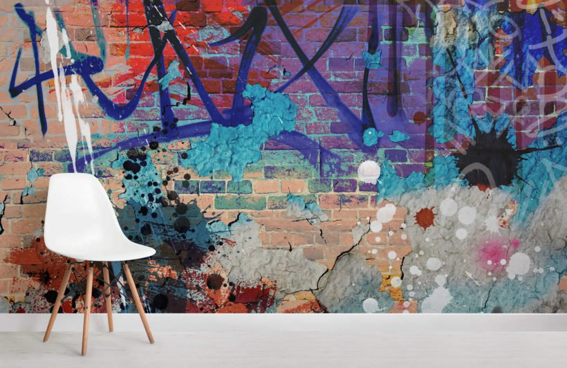 grunge-graffiti-room-wall-murals