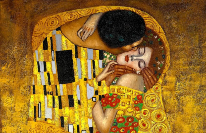 gustav-klimt-kiss-wall-mural-art-plain-wall-murals