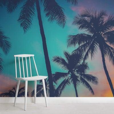 hawaii-palm-trees-mural-beach-square-wall-murals