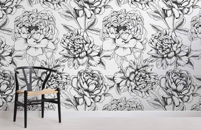 illustrated-floral-colour-in-wallpaper-room-wall-mural