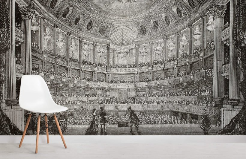 illustrated-theatre-room-wall-murals