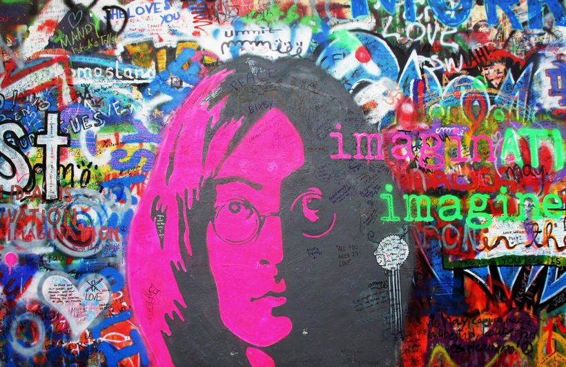 john-lennon-imagine-graffiti-plain-wall-murals