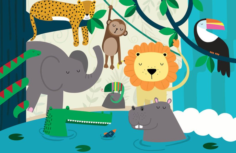 Jungle Friends Nursery
