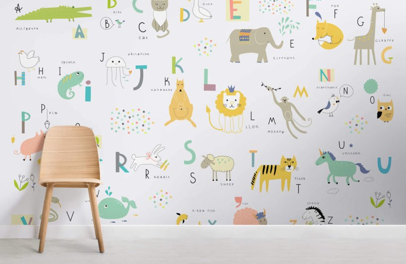 kids-alphabet-childrens-room-wall-murals