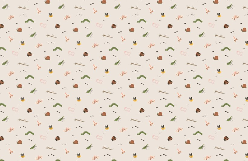 kids-cute-bugs-and-insects-repeat-pattern-wallpaper