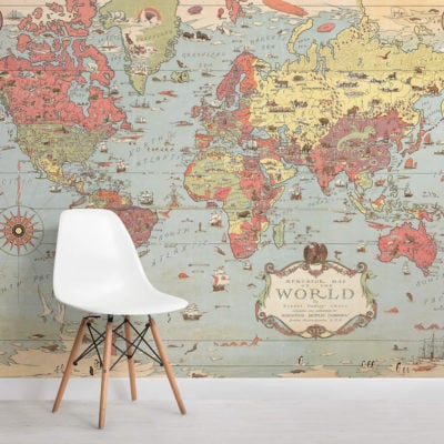 kids-vintage-world-map-square-wall-murals