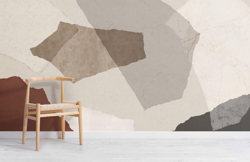 large-neutral-terrazzo-inspired-wallpaper-mural