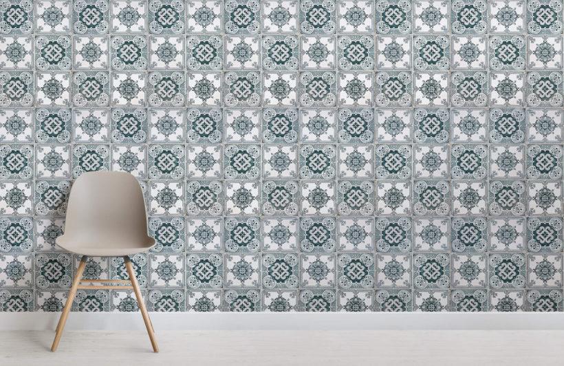 light-green-portuguese-tile-texture-room-wall-murals