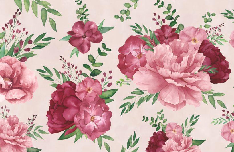 light-pink-watercolour-floral-print-wallpaper-mural