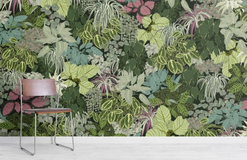 living-wall-green-house-plants-wallpaper-mural