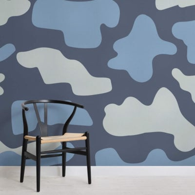 loyd-abstract camo-square-wall mural-kj